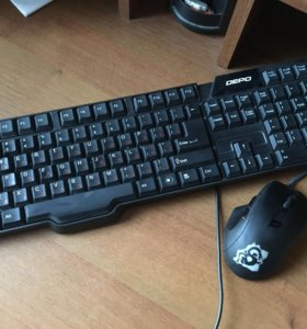 Продам мышку и клавиатуру