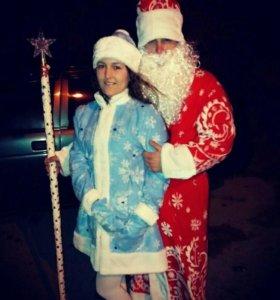 Костюмы Дед Мороз и Снегурочка