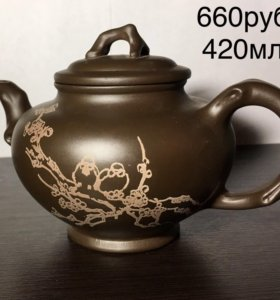 Глиняный чайник/кружка