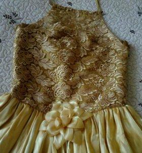 Праздничное бальное платье