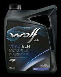 Масло моторное WOLF 5W40 PI C3 5 литров