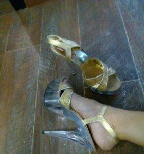Туфли для стрип пластики или поло дэнс