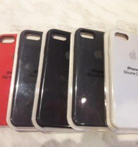 Чехлы на iPhon7, 8