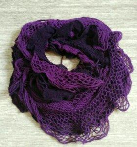 Женский ажурный шарф