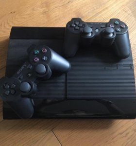 Sony Playstation 3 super slim 500gb 32игры gta5