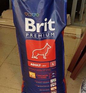 1 мешок 15 кг корма д/собак крупных пород