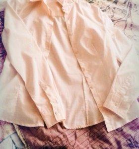 Розовая рубашка 👚
