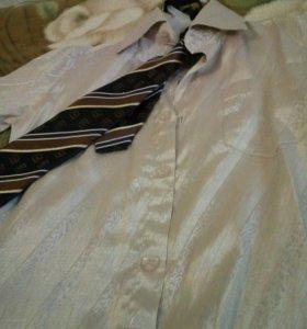 Рубашка детская с галстуком