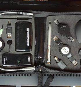 Набор акксесуаров для ноутбука в путешествия