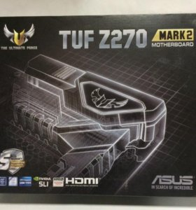 Мат.плата asus TUF Z270 mark 2 soc 1151