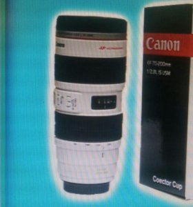 Термокружка-объектив Canon 70-200