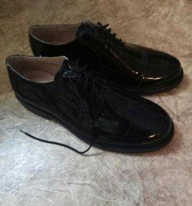 Военные туфли офисные