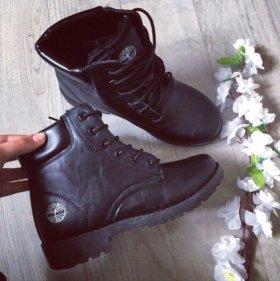 Ботинки зима новые 38