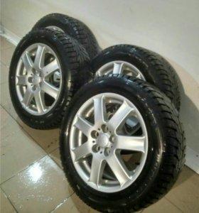 Колеса с шинами  зима  зимние Hankook  r16