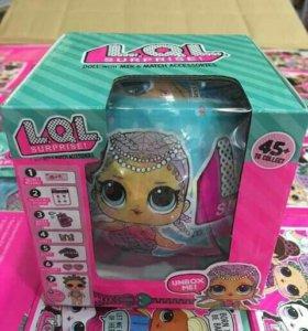 Кукла сюрприз LOL в шаре новые