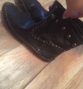 Ботинки мягчайшая кожа Италия