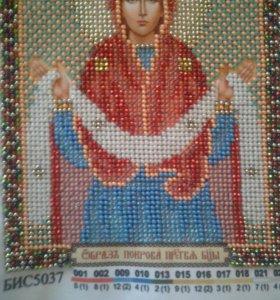 Икона из биссера