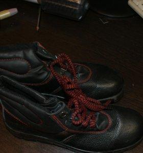 Ботинки новые кожа