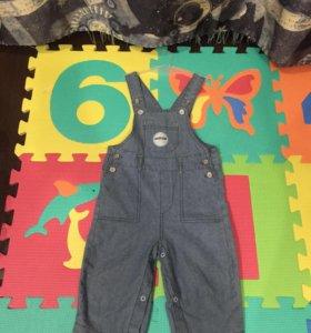 Комбинезон из мягкой джинсы