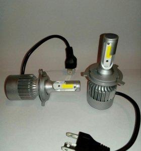 Светодиодные лампы h9,h7,h8,h11,h3,hb3,hb4,h4