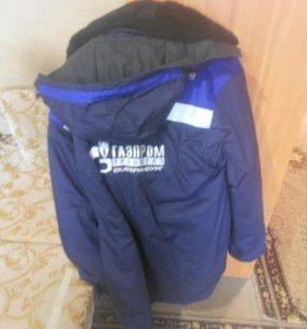 Верхняя одежда Газпром