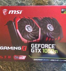 Видеокарта MSI GeForce GTX1050Ti GAMING X 4G