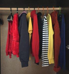 пакет одежды( кофты, водолазки, свитера,костюм )