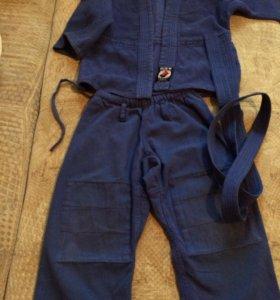 Кимоно для дзюдо детское 110-116