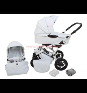 Детская коляска Tutek Tambero 2в1 эко кожа