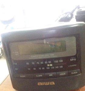 Радио часы будильник