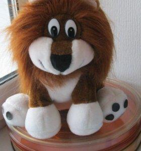 мягкая игрушка львёнок