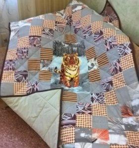 Одеяло или покрывало в технике пэчворк