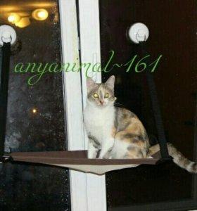 Гамак на окно для кошек
