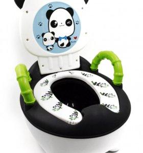 Детские горшки Panda с мягким сиденьем. Новые