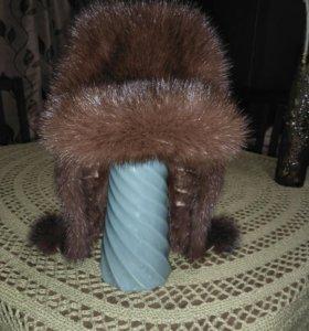 Норковая шапка.