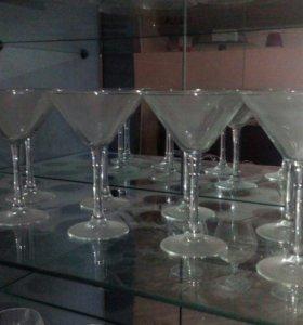 Бокалы для мартини 9шт.