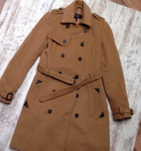 Пальто Mango, 50% шерсти