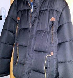 2 теплые куртки (пуховика)