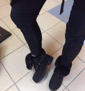 Зимние ботинки 37