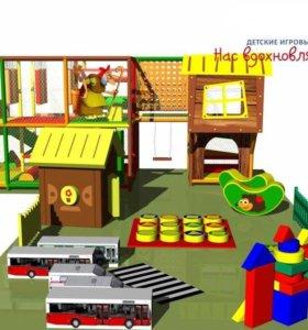 Мягкая игровая зона для детей от 36м2