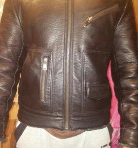 Кожаные куртка