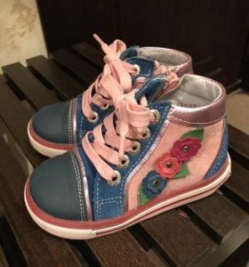 Ботинки для девочки Totto р.22