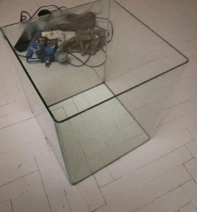 Аквариум dennerle NanoCube на 60 литров.