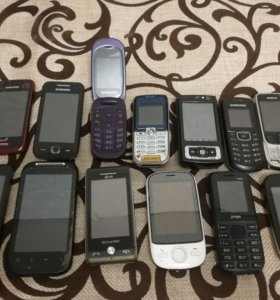 Продам кучу телефонов