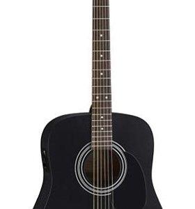 Новая акустическая гитара Parkwood(BK)