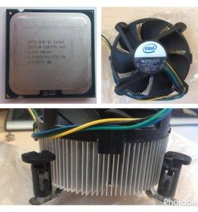 Процессор Intel e6550 + кулер intel