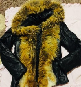 Куртка натуральная кожа и мех