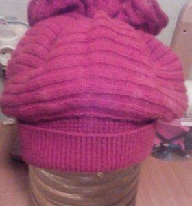 Зимняя шапка, женская