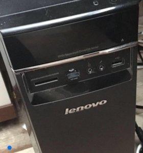 Системный блок Lenovo + монитор 19 дюймов