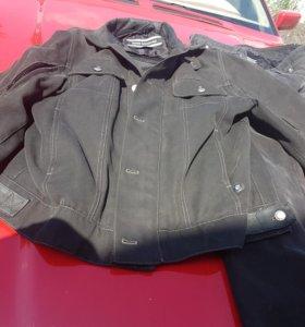 джинсовый мотокостюм БМВ 50р.